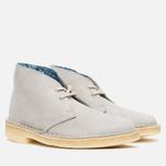 Женские ботинки Clarks Originals Desert Boot Stone Nubuck фото- 1