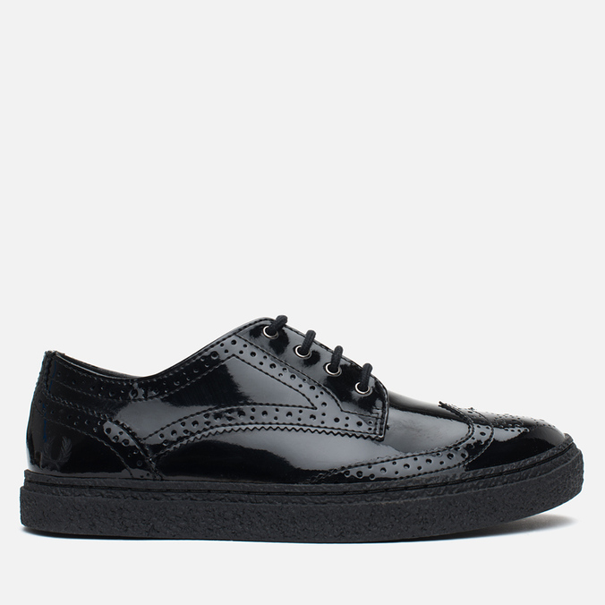 Женские ботинки Fred Perry Davies Patent Leather Black