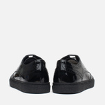 Женские ботинки Fred Perry Davies Patent Leather Black фото- 3