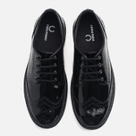 Женские ботинки Fred Perry Davies Patent Leather Black фото- 4