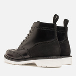 Мужские ботинки Loake x Brandshop Polished Suede Brogue Black фото- 2
