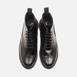 Мужские ботинки Loake x Brandshop Polished Suede Brogue Black фото- 4