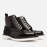 Мужские ботинки Loake x Brandshop Polished Suede Brogue Black фото- 1