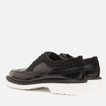 Мужские ботинки Loake x Brandshop Polished Suede Royal Brogue Black фото- 2