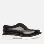 Мужские ботинки Loake x Brandshop Polished Suede Royal Brogue Black фото- 0