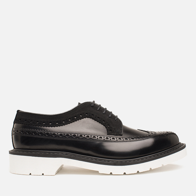 Мужские ботинки Loake x Brandshop Polished Suede Royal Brogue Black