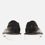 Мужские ботинки Loake x Brandshop Polished Suede Royal Brogue Black фото- 3