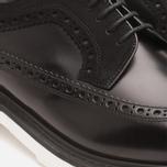 Мужские ботинки Loake x Brandshop Polished Suede Royal Brogue Black фото- 7