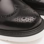 Мужские ботинки Loake x Brandshop Polished Suede Royal Brogue Black фото- 8