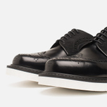 Мужские ботинки Loake x Brandshop Polished Suede Royal Brogue Black фото- 5