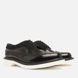 Мужские ботинки Loake x Brandshop Polished Suede Royal Brogue Black фото- 1