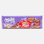 Шоколад Milka & Choco Jelly 250g фото- 0