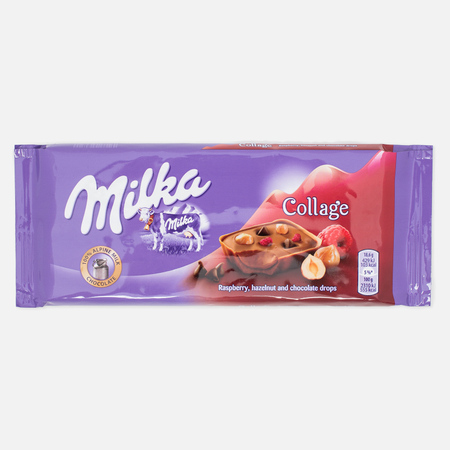 Milka Collage Fruit Chocolate 93g