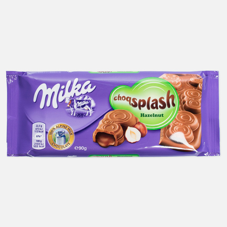 Шоколад Milka Collage Hazelnut 93g