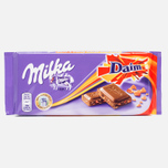 Шоколад Milka & Daim 100g фото- 0