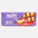 Шоколад Milka & LU 87g фото- 0