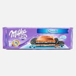 Шоколад Milka & Oreo 300g фото- 0