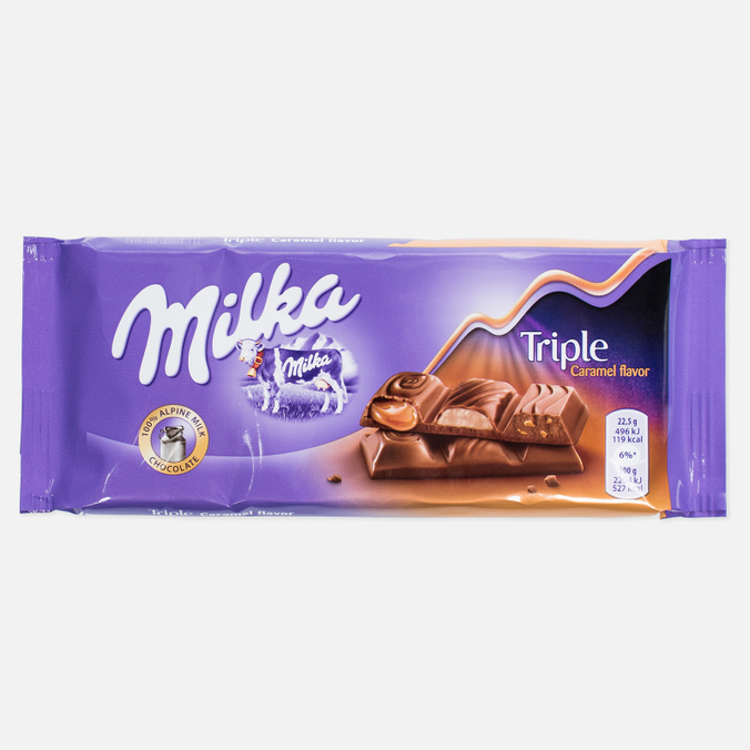Шоколад Milka Triple Caramel 100g
