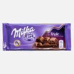 Шоколад Milka Triple Cocao 100g фото- 0