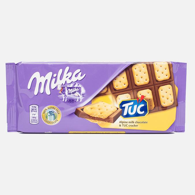 Шоколад Milka & TUC 87g