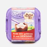 Шоколадные яйца Milka Loffel Ei 136g фото- 0