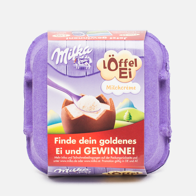 Шоколадные яйца Milka Loffel Ei 136g