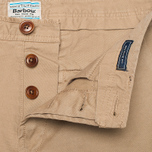 Barbour Mallon Twill Men`s Shorts Stone photo- 4