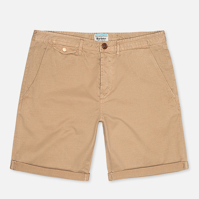 Barbour Mallon Twill Men`s Shorts Stone