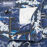Barbour x White Mountaineering Wave Men`s Shorts Blue photo- 4