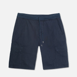 Мужские шорты C.P. Company Stretch Poplin Bermuda Dark Blue фото- 0