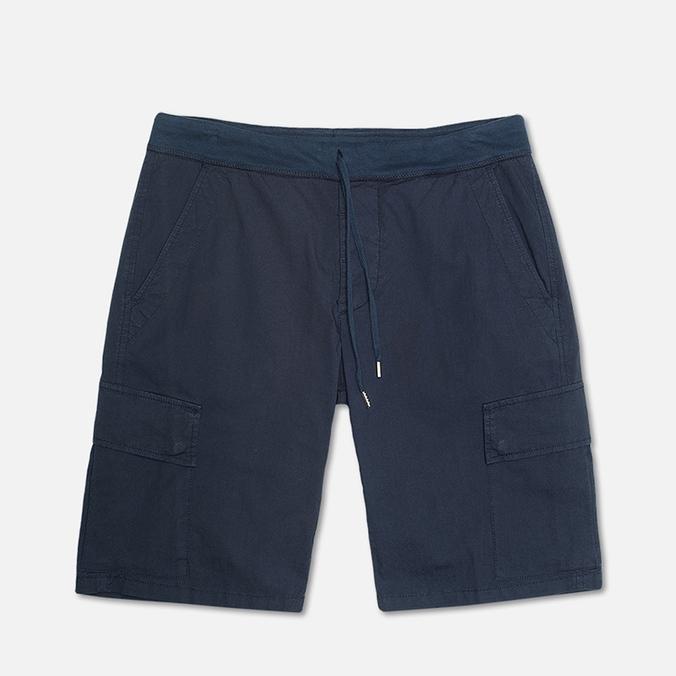 Мужские шорты C.P. Company Stretch Poplin Bermuda Dark Blue