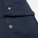 Мужские шорты C.P. Company Stretch Poplin Bermuda Dark Blue фото- 3