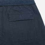 Мужские шорты C.P. Company Stretch Poplin Bermuda Dark Blue фото- 1