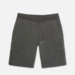 Мужские шорты C.P. Company Stretch Poplin Bermuda Dark Grey фото- 0