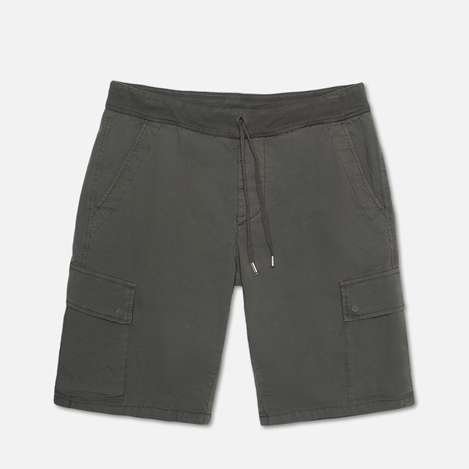 Мужские шорты C.P. Company Stretch Poplin Bermuda Dark Grey