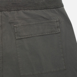 Мужские шорты C.P. Company Stretch Poplin Bermuda Dark Grey фото- 1