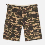 Мужские шорты Carhartt WIP Aviation Columbia Ripstop Camo Isle Rinsed фото- 0