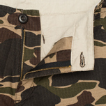 Мужские шорты Carhartt WIP Aviation Columbia Ripstop Camo Isle Rinsed фото- 4