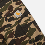 Мужские шорты Carhartt WIP Aviation Columbia Ripstop Camo Isle Rinsed фото- 2
