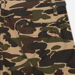 Мужские шорты Carhartt WIP Aviation Columbia Ripstop Camo Isle Rinsed фото- 1