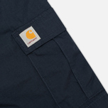 Мужские шорты Carhartt WIP Aviation Columbia Ripstop Duke Blue Rinsed фото- 2