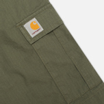 Мужские шорты Carhartt WIP Aviation Columbia Ripstop Leaf Rinsed фото- 2