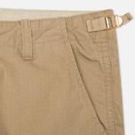Мужские шорты Carhartt WIP Aviation Columbia Ripstop Leather Rinsed фото- 3