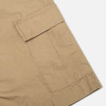 Мужские шорты Carhartt WIP Aviation Columbia Ripstop Leather Rinsed фото- 5