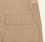 Мужские шорты Carhartt WIP Aviation Columbia Ripstop Leather Rinsed фото- 1