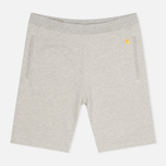 Мужские шорты Carhartt WIP Chase Sweat Grey Heather фото- 0