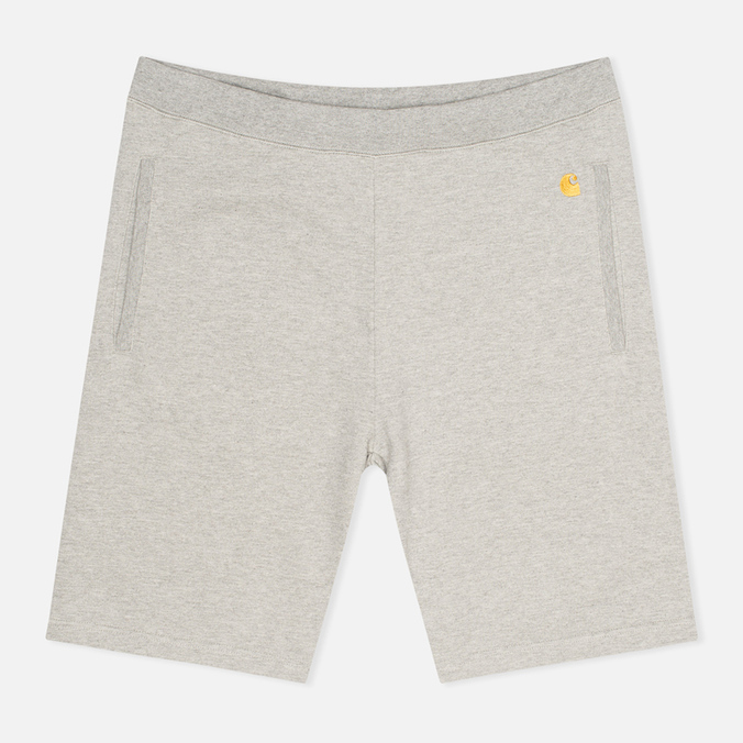 Carhartt WIP Chase Sweat Men`s Shorts Grey Heather