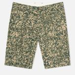 Мужские шорты Carhartt WIP Johnson Dexter Twill Camo Stain Leaf Rinsed фото- 0
