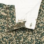 Мужские шорты Carhartt WIP Johnson Dexter Twill Camo Stain Leaf Rinsed фото- 3