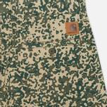 Мужские шорты Carhartt WIP Johnson Dexter Twill Camo Stain Leaf Rinsed фото- 1